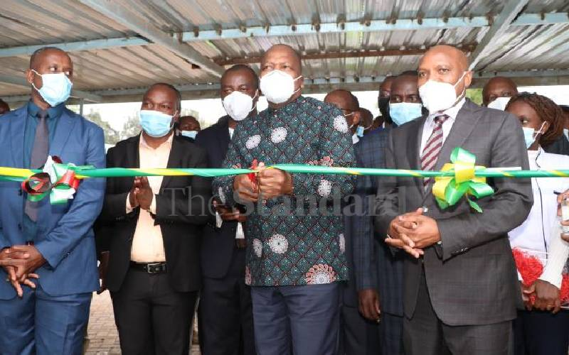 CS Mutahi announces 524 new Covid-19 infections and positivity of eight