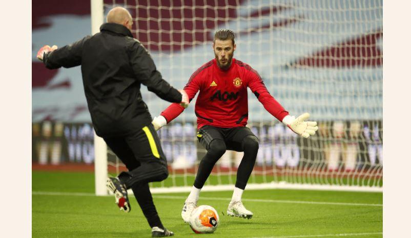 De Gea breaks Manchester United record