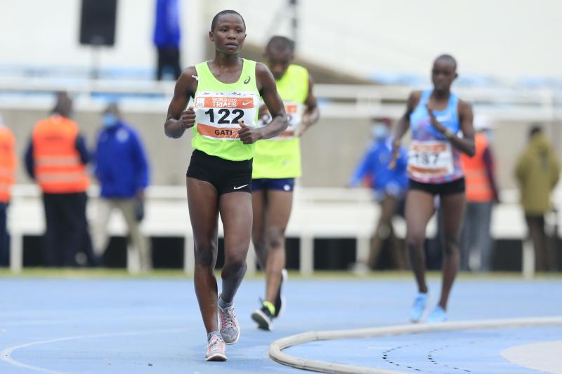 Kenyan Stars shine at Kasarani for World Athletics U20 trials