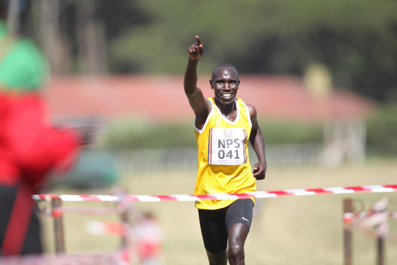 Dominant Kamworor wins at Police meet