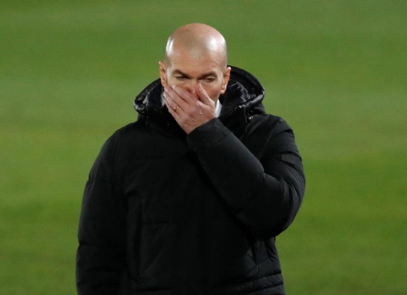 Real Madrid coach Zidane tests positive for coronavirus