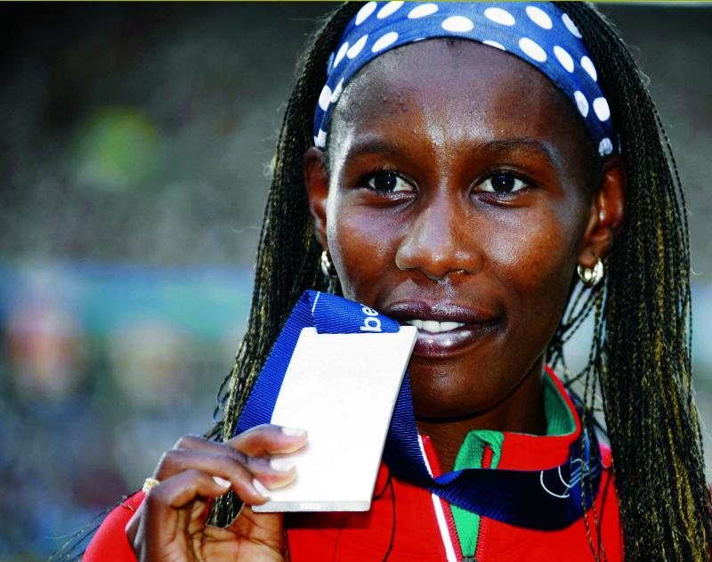 'Eldoret Express' tunes her engines for Olympics