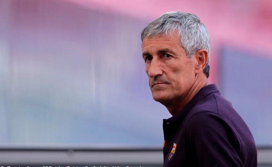 Ex-Barcelona coach Setien suing club over contract