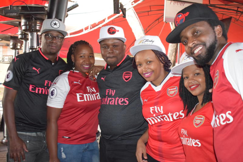FA Cup final: Kenyan fans forced to watch action at home
