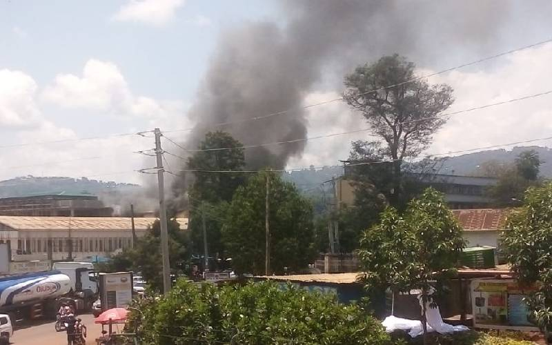 Fire guts Kisii County assembly chambers