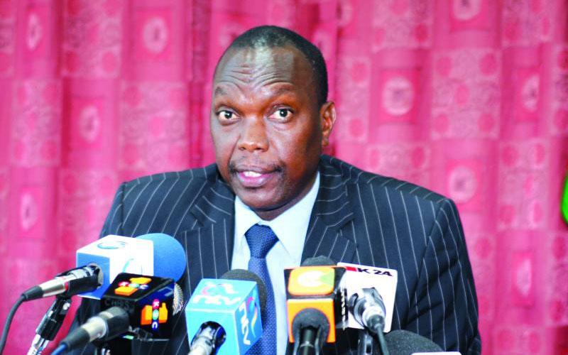 Ndaragwa MP Jeremiah Kioni