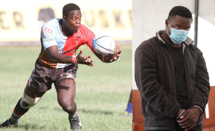 Former rugby player Alex Olaba arrested over attempted murder of key witness in rape case