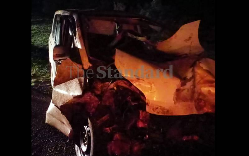 Four killed in Gilgil road accident