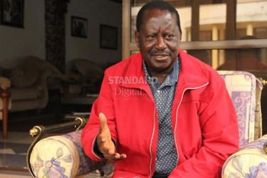 Gambling is Kenya's next big scandal, Raila now cautions