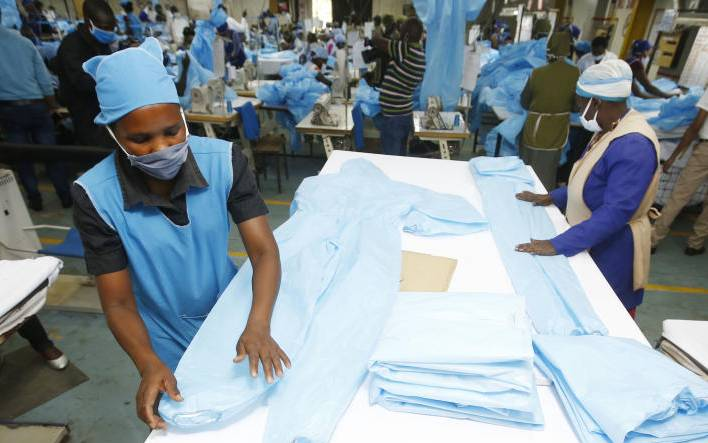 Government insists locally manufactured PPEs are of top quality