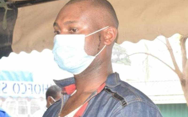 Hawker in court for burning customer's face