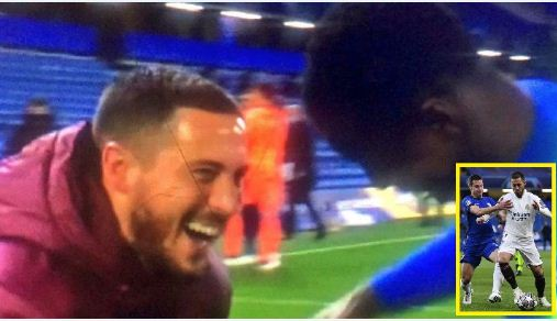 Hazard apologises for laughing with Chelsea players after Real Madrid defeat