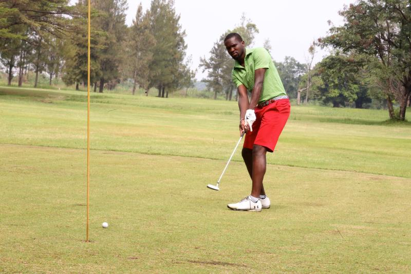 Hockey star Oburu raring to swing his way to golf glory