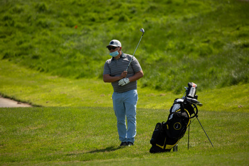 How to enjoy playing golf solo in the times of Covid-19