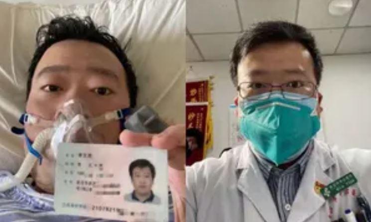 Coronavirus whistle-blower doctor, Li Wenliang.