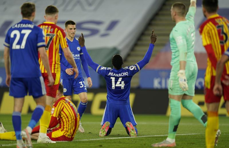 Iheanacho extends scoring run as Leicester beat West Brom