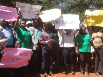 Teachers' demand for high pay risky