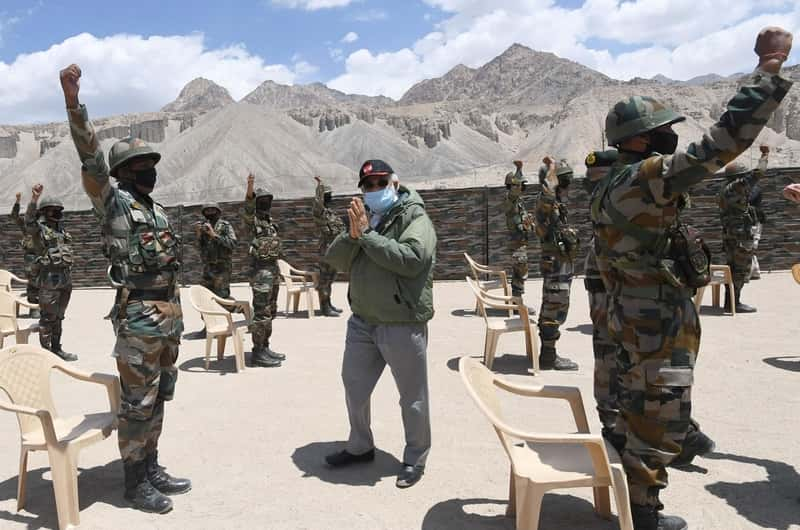 India's Modi rallies troops at China border, as Beijing urges caution