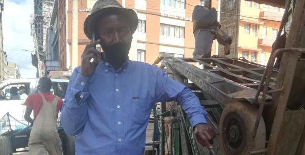 Meet Engineer Jahazi, the mkokoteni boss who pushes carts in Nairobi city