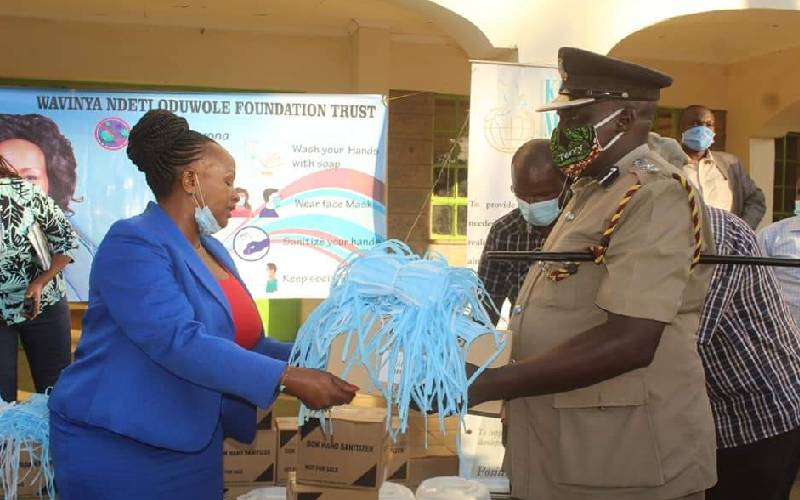 Join State relief efforts to combat Covid-19, Wavinya tells counties: The Standard