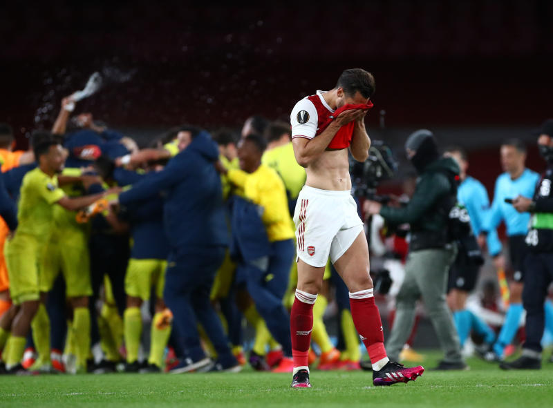 Joy for Emery as Villarreal hold Arsenal to reach Europa League final