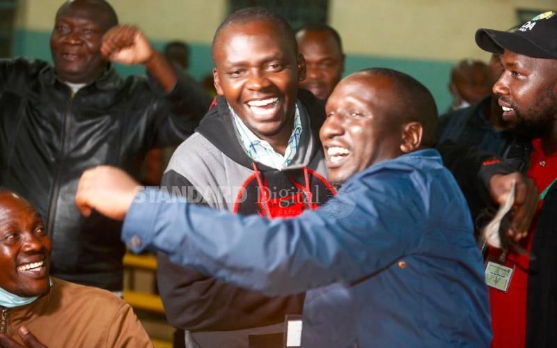 Jubilee, UDA win seat each in Nakuru by-elections