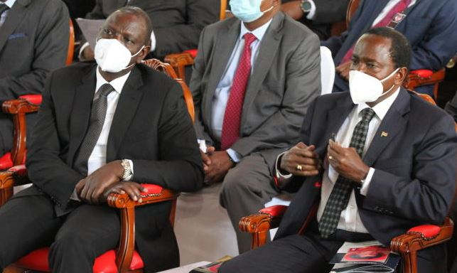 Jubilee weighs expelling Ruto as Kalonzo says he'll sue him