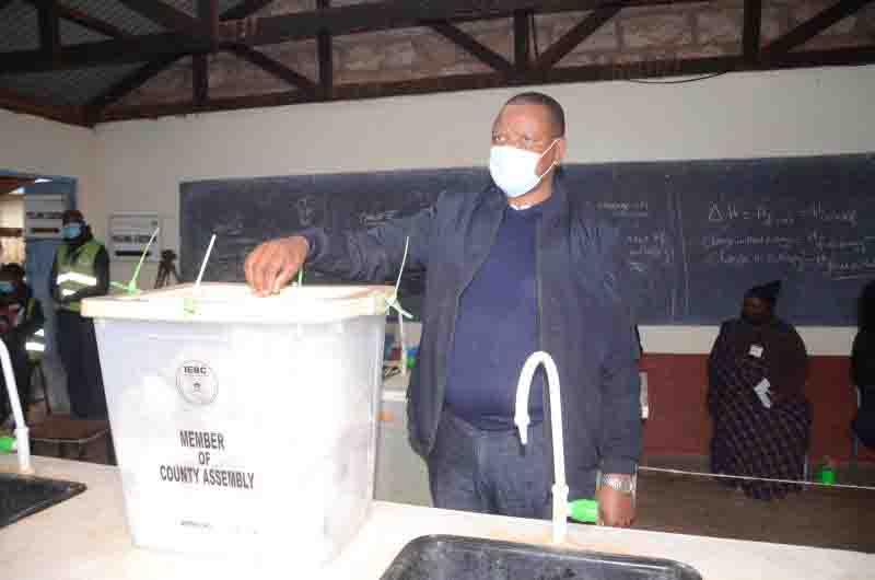 Jubilee's Joseph Githinji wins Muguga ward by-election