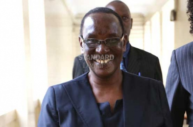 Judicial officers will work as a family unit under my watch, Nambuye tells panel