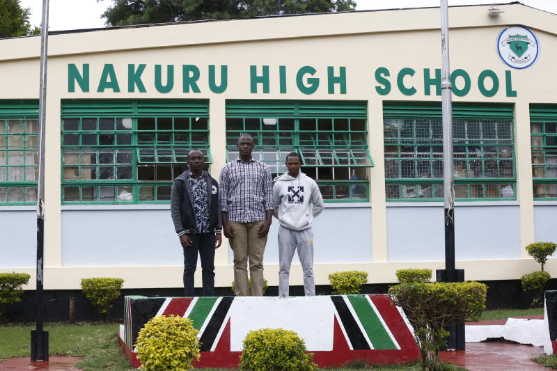 KCSE top achievers at Nakuru High school dream of becoming rugby superstars