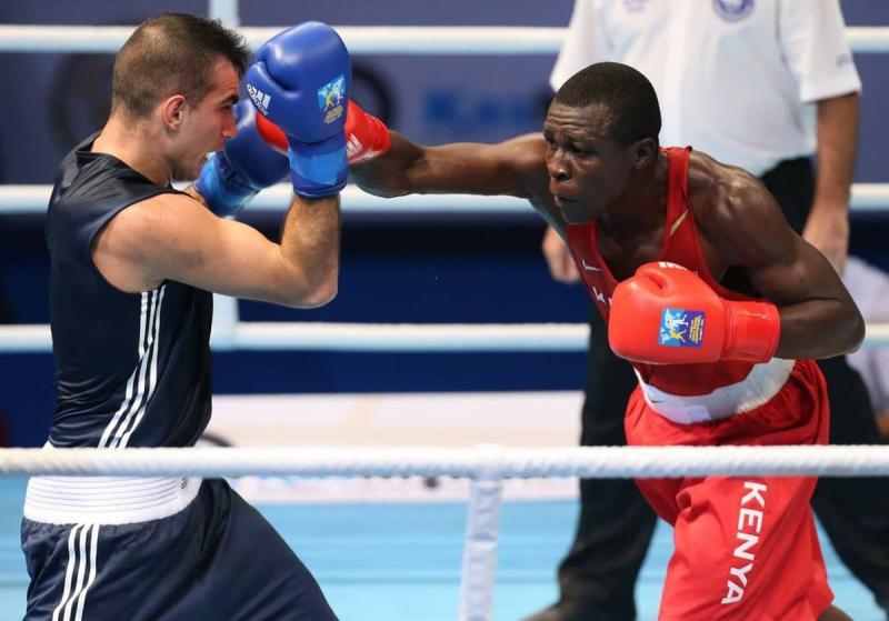 KDF soldier Nick Abaka nurturing future champions
