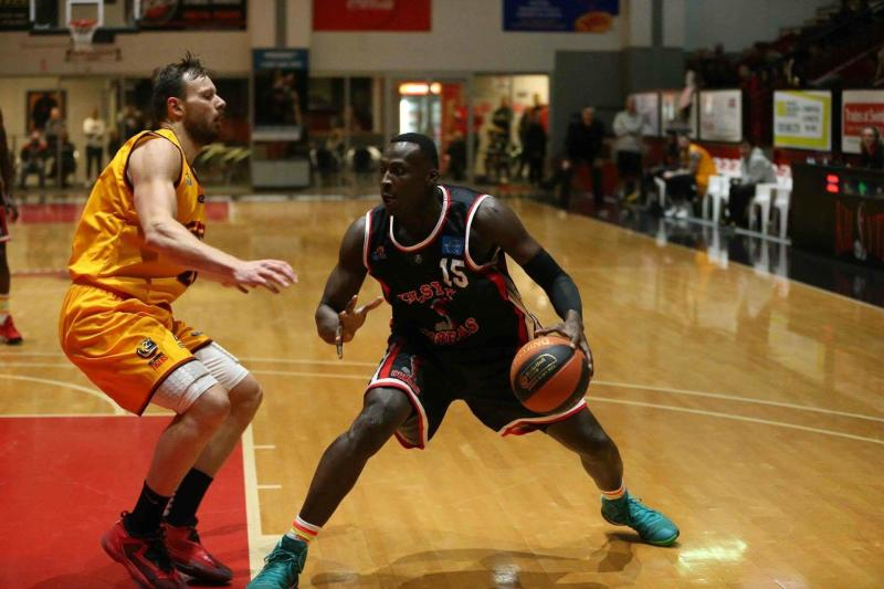 Kenya Morans player Owili is now crowd favourite in Australia