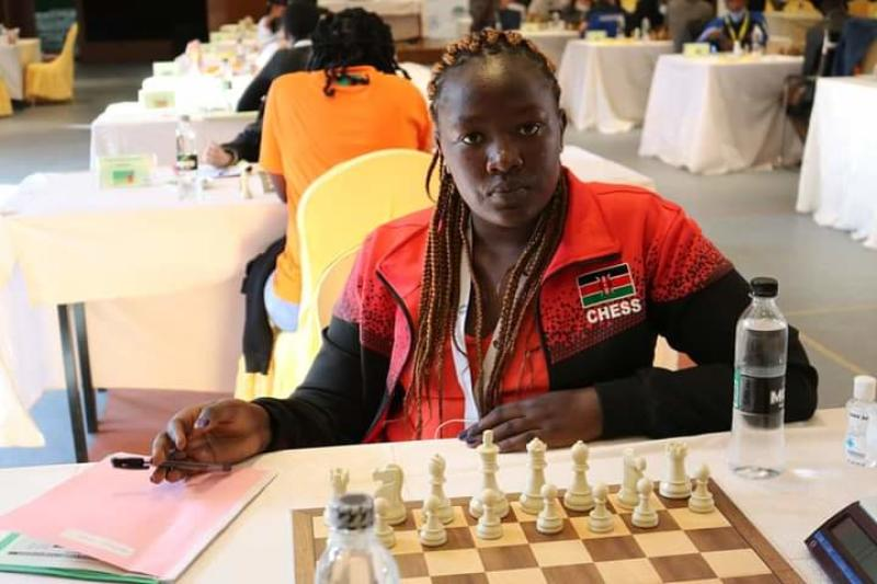 Kenya national women's team ready for Queens Online International Chess Festival
