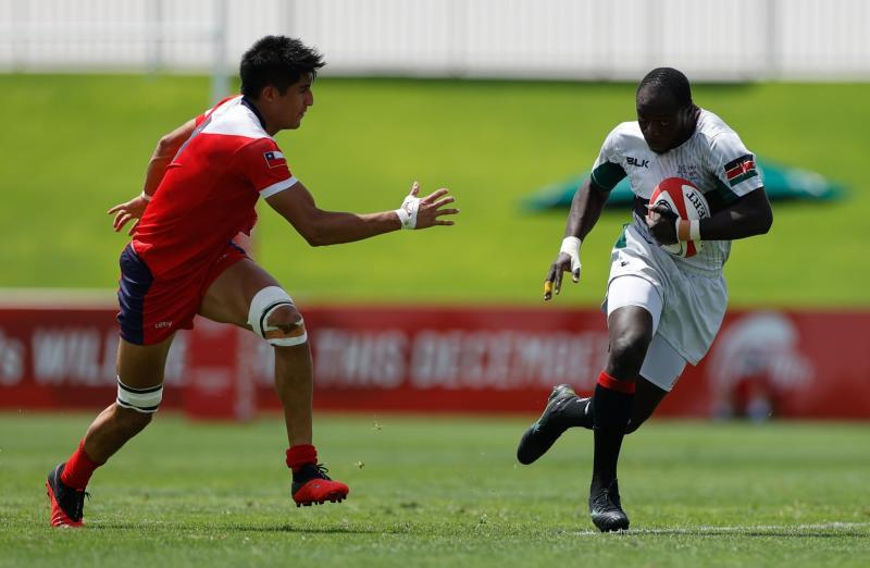 How Chile shocked Kenya at Dubai 7s