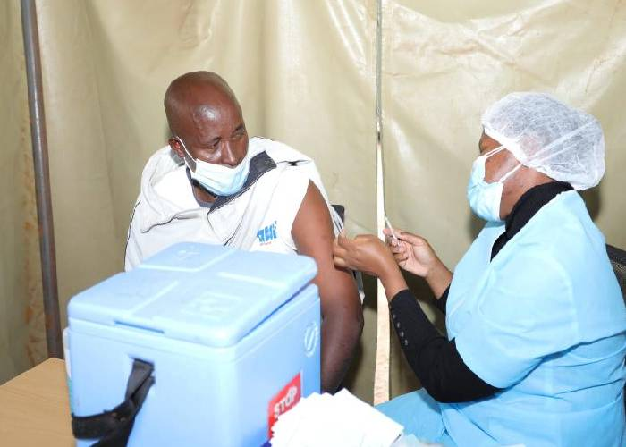 Kenya receives first batch of Pfizer vaccines from the US government