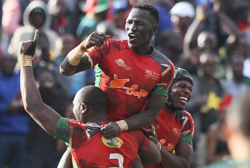 Kenya Sevens finish fifth at Dubai 7s