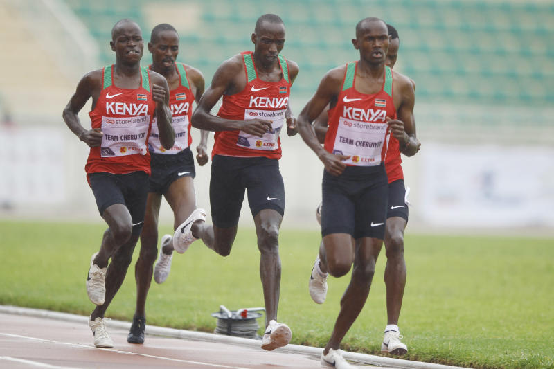 Kenyan stars upbeat despite loss to Norwegian squad in virtual race