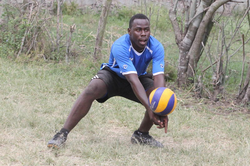 Kenyan volleyball superstar reveals how his father influenced him
