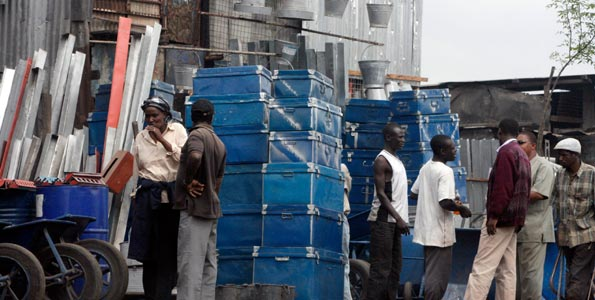 Kenyans mark a slow Labour Day