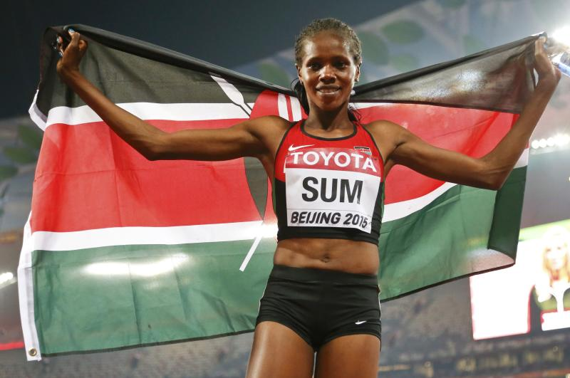 Kenya's Eunice Sum promises to bow out with honours in Tokyo