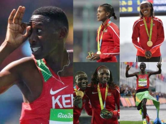 KENYA'S GOLDEN YEAR: 2016 witnessed one of the best shows for local athletes both on the road and track