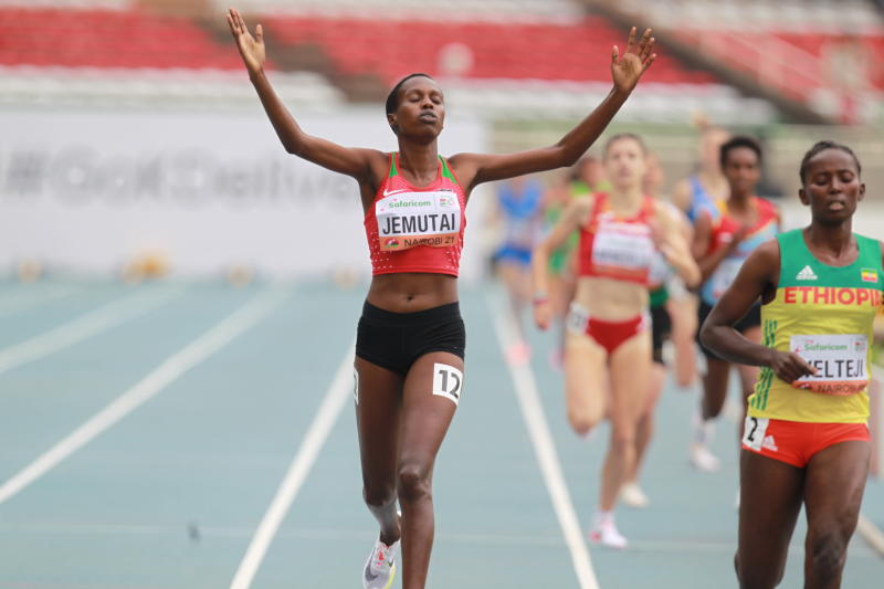 Kenya's Jemutai, Chepkirui storm 1,500m final