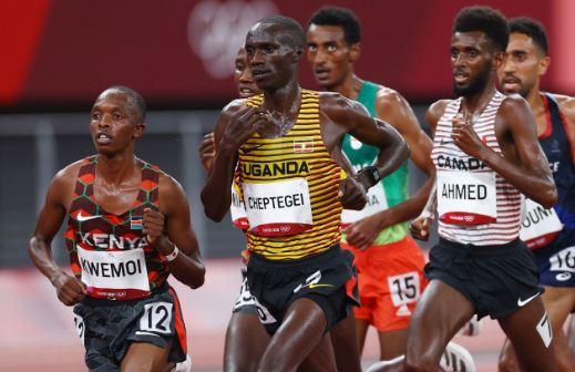 Kenya's wait for 10,000m title continues as Barega strikes gold