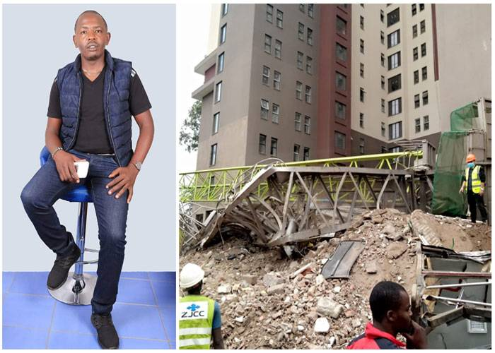 Kilimani crane accident victim, Danson Magu: Patient family man who loved his wife, son