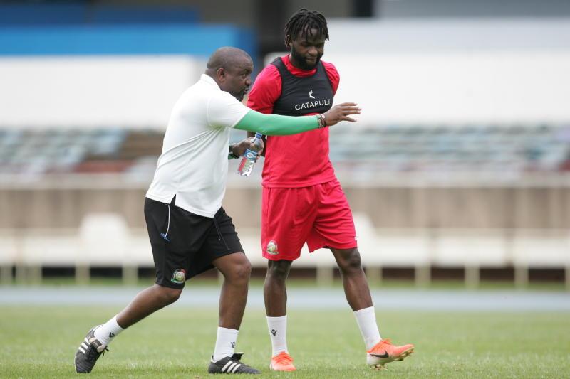 Harambee Stars coach Kimanzi calls local players ahead of Comoros match