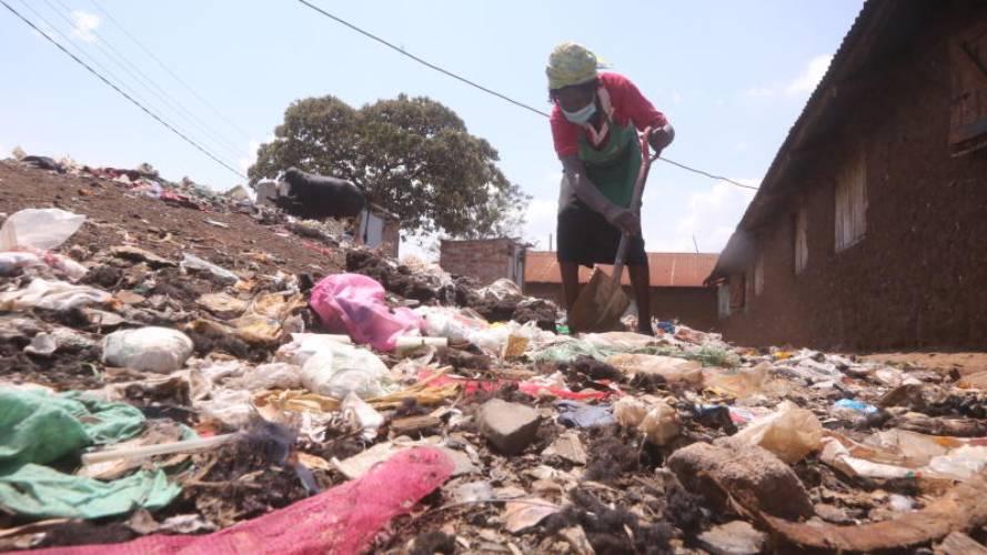 Kisumu estates choking in filth as as city centre sparkles