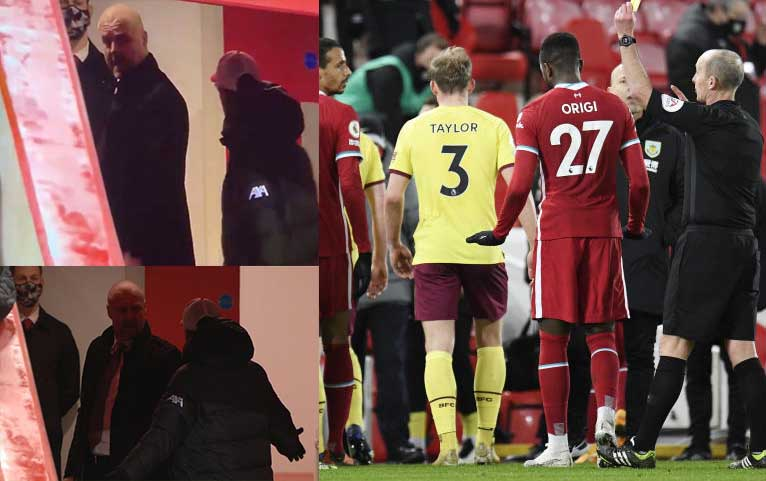 Klopp and Dyche almost fight in tunnel during Liverpool v Burnley [Photos]