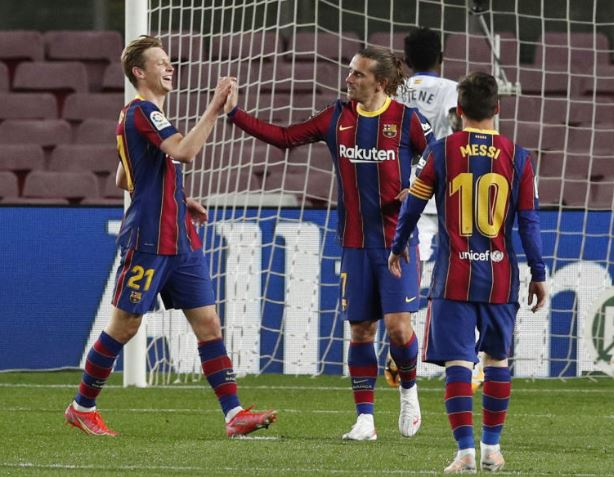 La Liga: Messi magic powers Barca again to big win