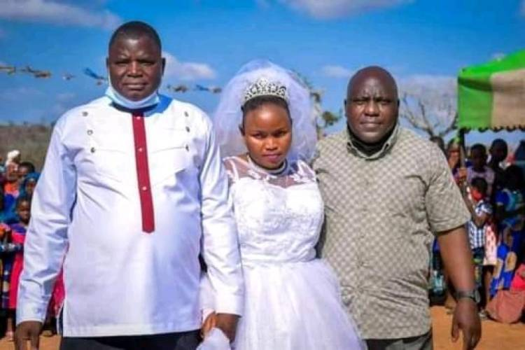 Lamu copdies on his wedding day, new wife still in shock