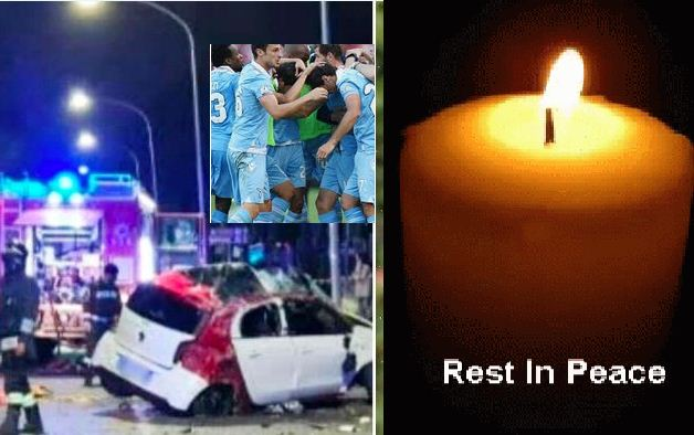 Lazio midfielder dies after car accident in Rome